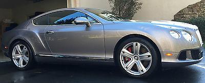 Bentley : Continental GT GT Coupe 2-Door 2012 bentley continental gt coupe 6.0 l twin turbo 14 k miles l k