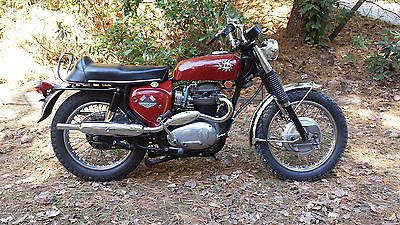 BSA : BSA Firebird Scrambler 1968 bsa firebird scrambler motorcycle