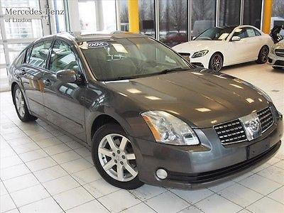 Nissan : Maxima 3.5 SL 2006 nissan maxima v 6 fwd grey tan interior good miles clean carfax