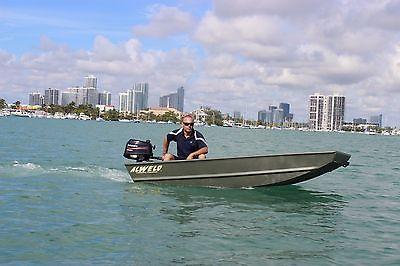 Alweld Aluminum Flat Boat DS 10ft