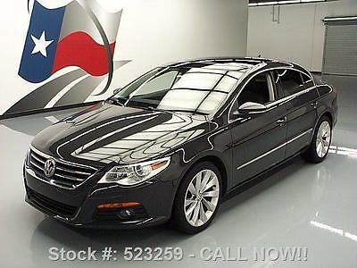 Volkswagen : CC LUX HEATED SEATS SUNROOF NAV 2012 volkswagen cc lux heated seats sunroof nav 80 k mi 523259 texas direct auto