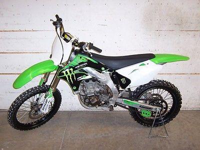 Kawasaki : KXF 2008 kawasaki kx 450 f