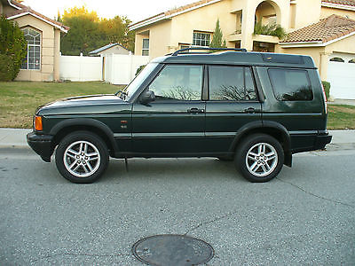Land Rover : Discovery Green Beautiful California Rust Free Land Rover Discovery SE  Rare Epsom Green.