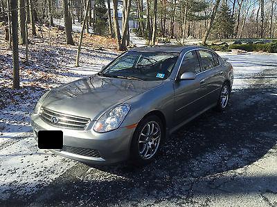 Infiniti : G35 Premium Sport FS: 2005 G35 Sedan 115K Miles w Nav, Bose, Premium Wheels, Garage Kept