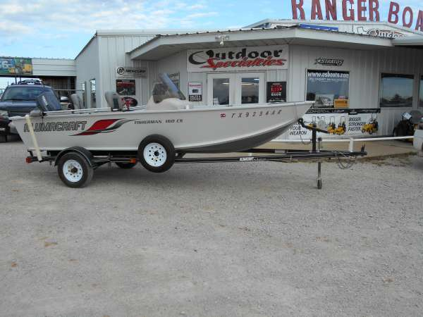 2008 Alumacraft Fisherman 160 CS