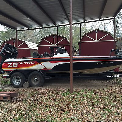2010 20' Z8 Nitro Tracker Marine Boat 200hp (New engine) with trailer No Reserve