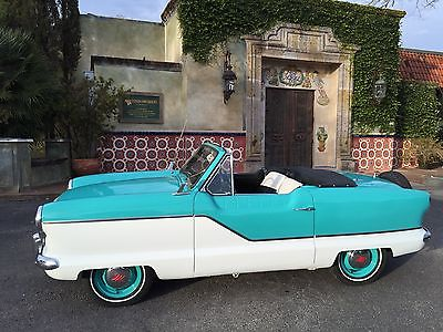 Nash : Metropolitan Convertible 1962 nash metropolitan convertible fresh restoration looks and runs great