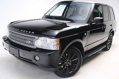 Land Rover : Range Rover SC WE FINANCE! 2008 Land Rover Range Rover SC Sunroof Nav Cooled Seats 1OWNER!!!