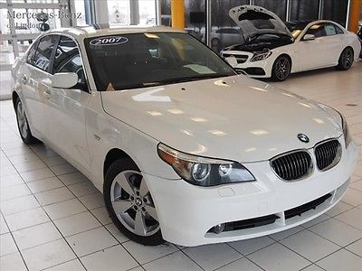 BMW : 5-Series 530xi 2007 bmw 530 xi all wheel drive comfort cold weather white gray one owner