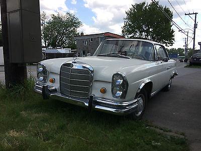 Mercedes-Benz : 200-Series Coupe 1965 mercedes 220 seb 220 seb body 111