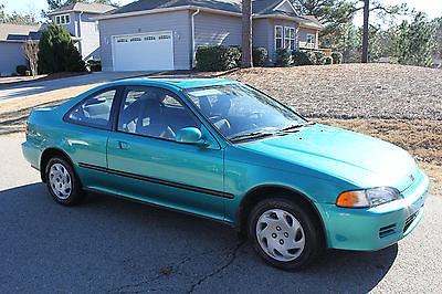 Honda : Civic EX Amazing 1994 honda Civic EX coupe w 55K orig miles!