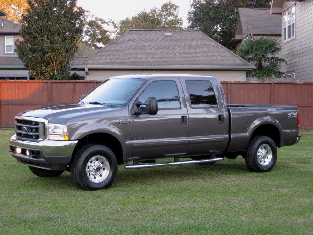 Ford : F-250 4x4 DIESEL! FORD F250 CREW CAB SHORT BED (XLT) LOW MILEAGE! 7.3L DIESEL... MINT CONDITION