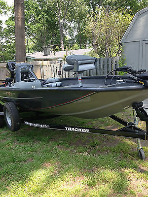 2014 Bass Tracker Boat With Extended Warranty
