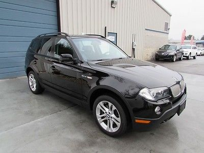BMW : X3 3.0si Premium Package AWD Automatic SUV 26 mpg 2008 bmw x 3 3.0 si sunroof leather heated seats awd suv 08 e 83 4 wd knoxville tn