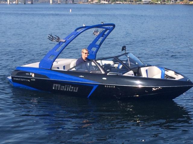 2017 Malibu Boats LLC Wakesetter 20 VTX