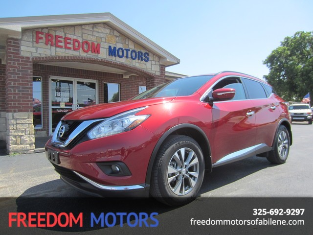 nissan murano cars for sale in abilene texas. Black Bedroom Furniture Sets. Home Design Ideas