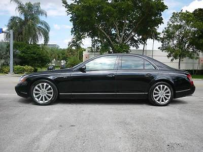 2006 Maybach 57S S Maybach 57S BLACK with 37,870 Miles, for sale!