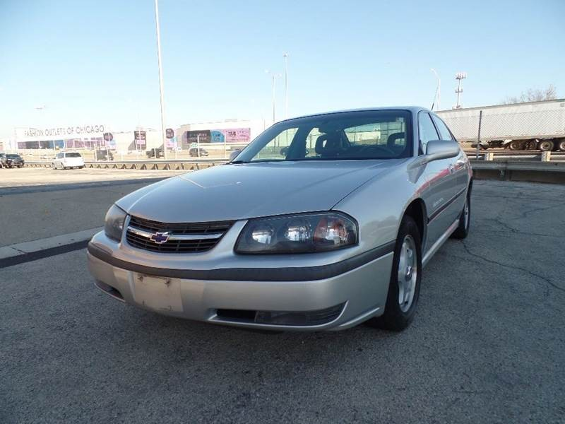 2001 Chevrolet Impala LS 4dr Sedan