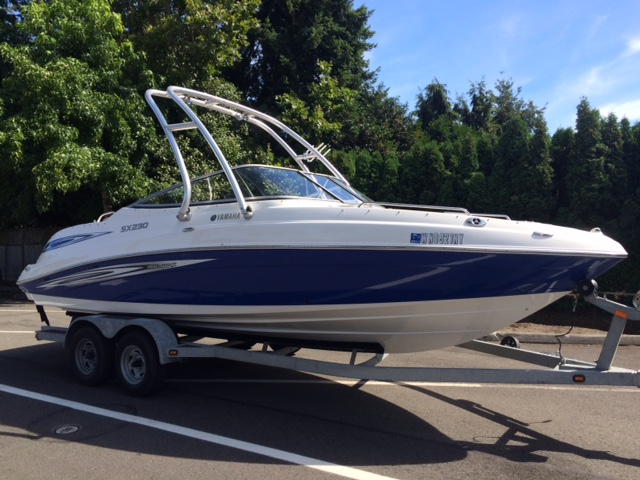 2008 Yamaha Bowrider Series SX230 High Output