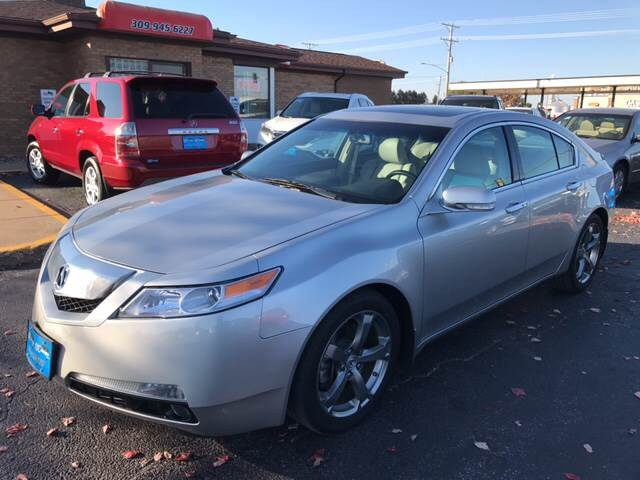 2010 Acura TL w/Tech 4dr Sedan w/Technology Package