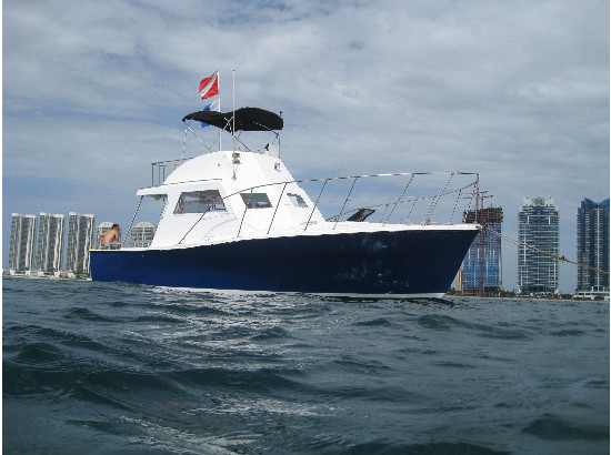 1981 Ensign Custom Dive Boat