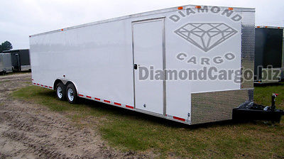 2016 8.5X28FT ENCLOSED DIAMOND CARGO TRAILER