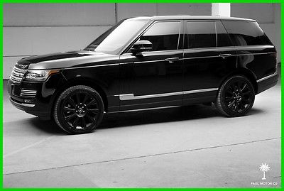 2013 Land Rover Range Rover Supercharged Autobiography 2013 Land Rover Range Rover Supercharged Autobiography 21,500 miles Warranty