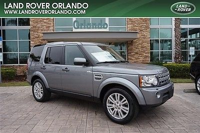 2012 Land Rover Range Rover HSE Sport Utility 4-Door 2012 LAND ROVER LR4 HSE 7 SEAT-GREY-EBONY LEATHER-ONE OWNER-CLEAN CARFAX!