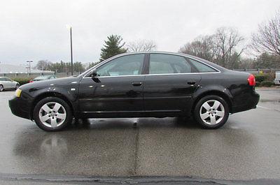 2003 Audi A6 4dr Sedan 3.0L quattro AWD Automatic 4dr Sedan 3.0L quattro AWD Automatic Automatic Gasoline 3.0L V6 Cyl BLACK