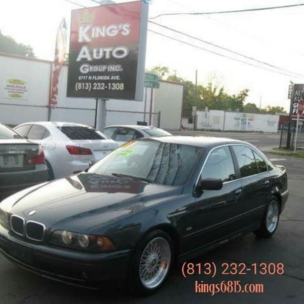 2001 BMW 5 Series 525i 4dr Sedan