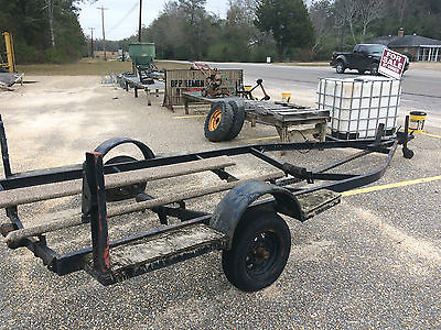 16' Steel Boat Trailer