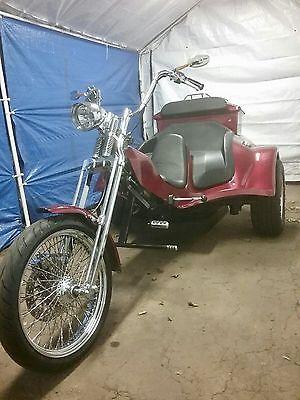 2011 Custom Built Motorcycles Other  2011 Volkswagen Powered Trike 1835cc - Harley Davidson Springer Front End