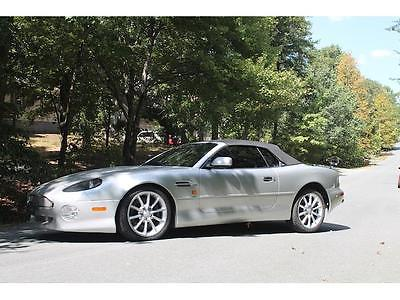 2002 Aston Martin DB7 Vantage -- 2002 Aston Martin DB7 Vantage 37,361 Miles Silver Convertible 12 Cylinder Engin