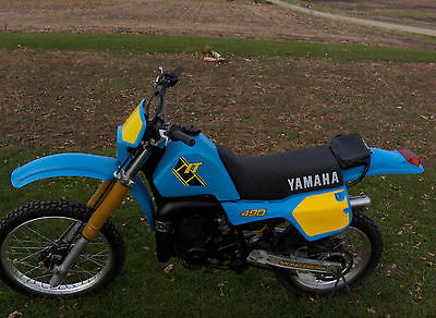 1984 Yamaha IT490  1984 YAMAHA IT490 IT 490 Motorcycle