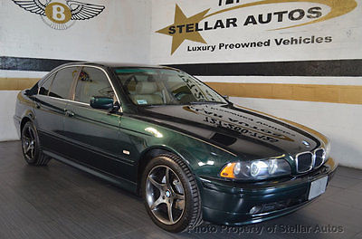 2001 BMW 5-Series 525i 20 BMW DEALERSHIP SERVICE RECORDS WARRANTY SPEED MANUAL SPORT FREE SHIPPING USA