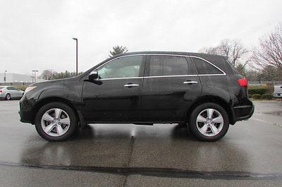2011 Acura MDX AWD 4dr AWD 4dr SUV Automatic Gasoline 3.7L V6 Cyl Crystal Black Pearl