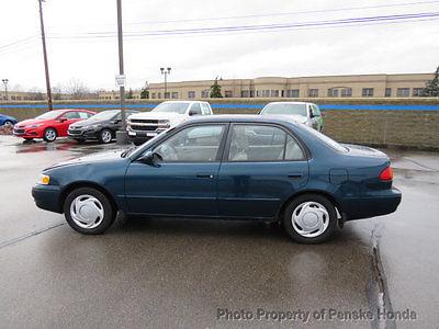1998 Toyota Corolla 4dr Sedan LE Automatic 4dr Sedan LE Automatic Automatic Gasoline 1.8L 4 Cyl BLUE
