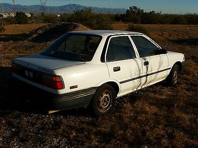 1990 Toyota Corolla LE 1990 TOYOTA COROLLA 4-DOOR