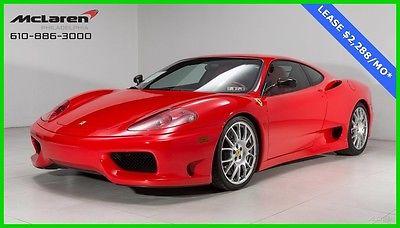2004 Ferrari 360  2004 FERRARI CHALLENGE STRADALE CHALLENGE STYLE GRILLES CARBON FIBER RACING SEAT
