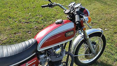 1972 Yamaha XS  1972 yamaha xs 650 vintage running titled motorcycle xs 650 cafe brat tracker