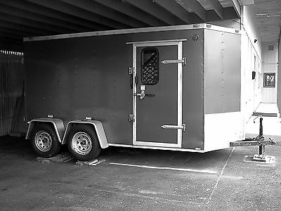 FREEDOM TRAILER - 6' X 12' Plus 2' V - 78