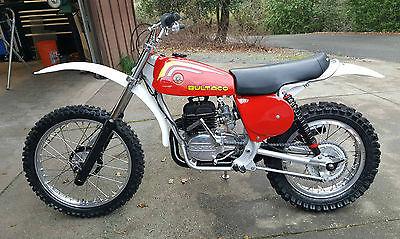 1976 Bultaco  1976 Bultaco 370 Pursang Motocross Motorcycle