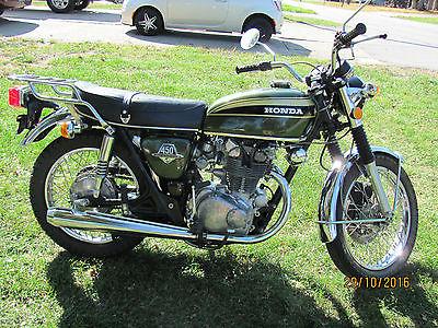 1973 Honda CB CB450 Super Sport
