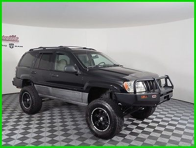 2001 Jeep Grand Cherokee Laredo 4x4 4.0L I6 Engine Lifted SUV Towing Pkg EASY FINANCING! 141042 Miles Used Black 2001 Jeep Grand Cherokee Laredo SUV 4WD