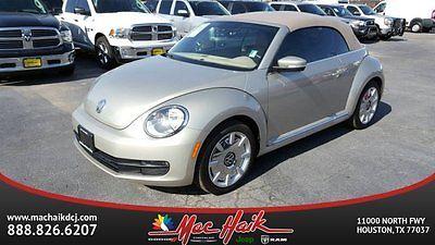 2016 Volkswagen Beetle-New -- 2016 Volkswagen Beetle Convertible Automatic Intercooled Turbo