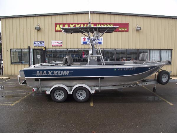 1999 Maxxum 21 Jet