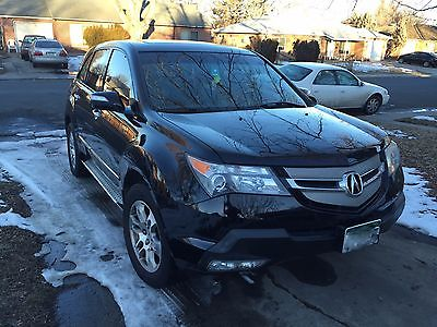 2008 Acura MDX Technology Package 2007 acura mdx
