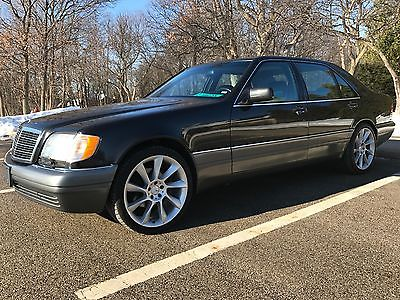 1995 Mercedes-Benz S-Class  1995 mercedes s 420 with only 42900 miles