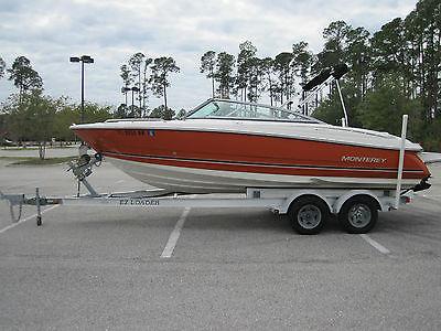 2008 Monterey 214FS Bowrider V-8 Mercruiser 5.0L Aluminum Trailer VERY CLEAN