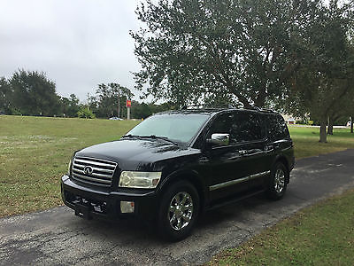 2006 Infiniti QX56 4 DR SUV 2006 INFINITI QX56 - NAVIGATION - BOSE SURROUND SOUND - TOW PACKAGE